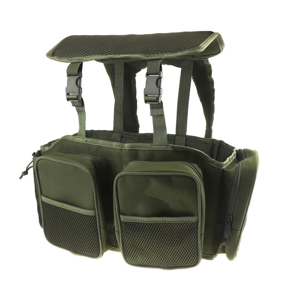 de pesca tecido de náilon mochila saco