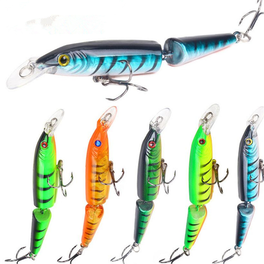 Rapture New 1pcs Artificial Hard 2 Paragraphs Mino Crank Spinner Baits 10cm Fishing Lures 9.23g Fishing Baits Attacking Wobbler Japan Fishing Tools Fishing