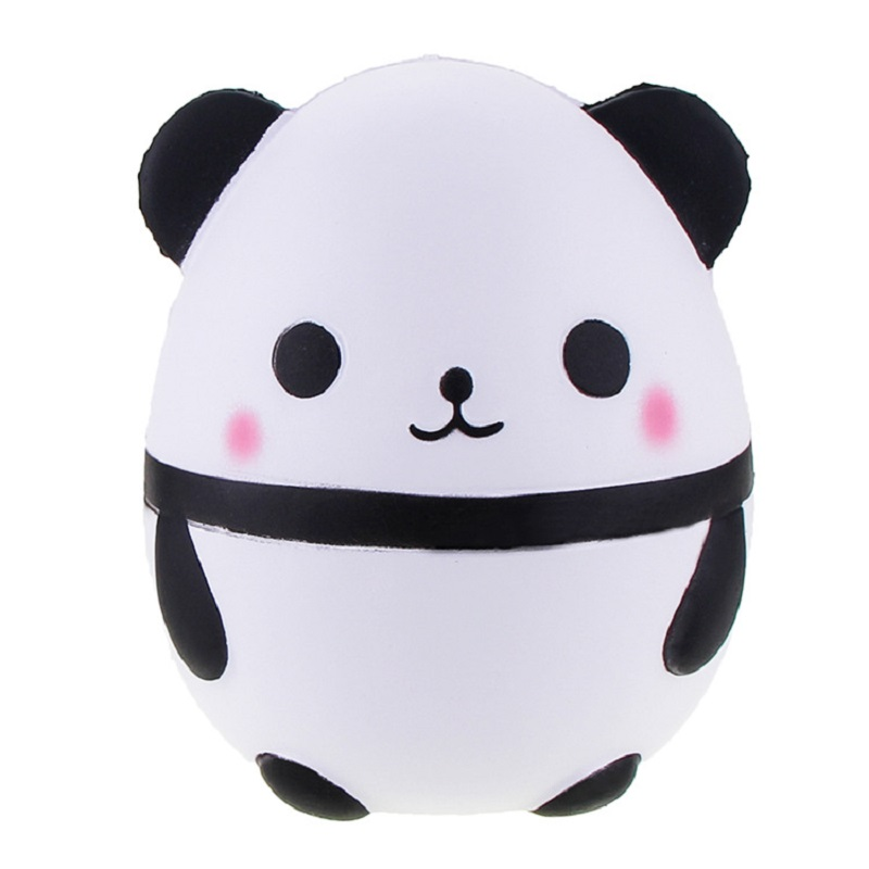 Automobiles Collectibles Selfless 15cm Jumbo Fat Panda Egg Squishy Doll Phone Straps Car Decoration Slow Rising Kawaii Animal Kids Toys Soft Squeeze Fun Gift P15 Fashionable Patterns