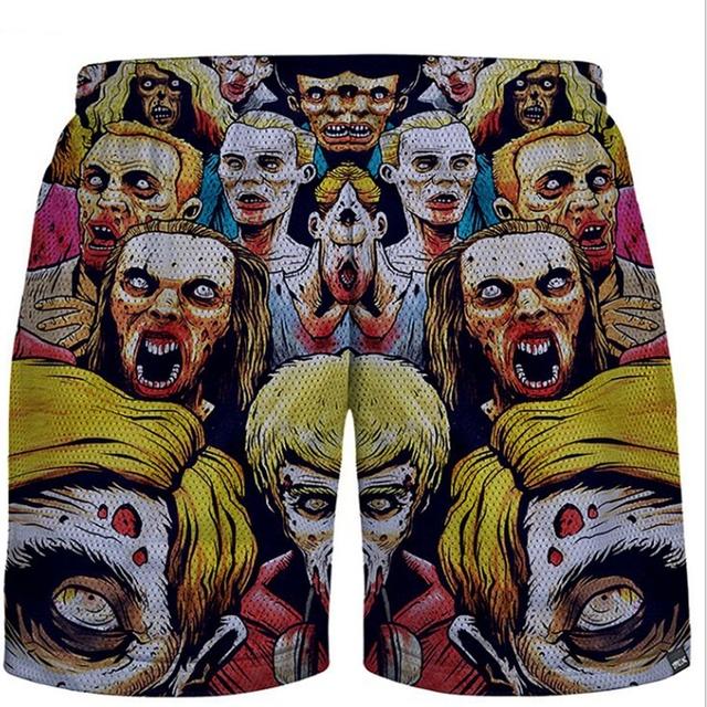 Vendido caliente del traje de baño de los hombres pantalones Cortos Hombres Casuales Boardshorts Playa Pantalones Cortos de los Hombres Del Estilo Del Verano Nueva Ropa de la Marca