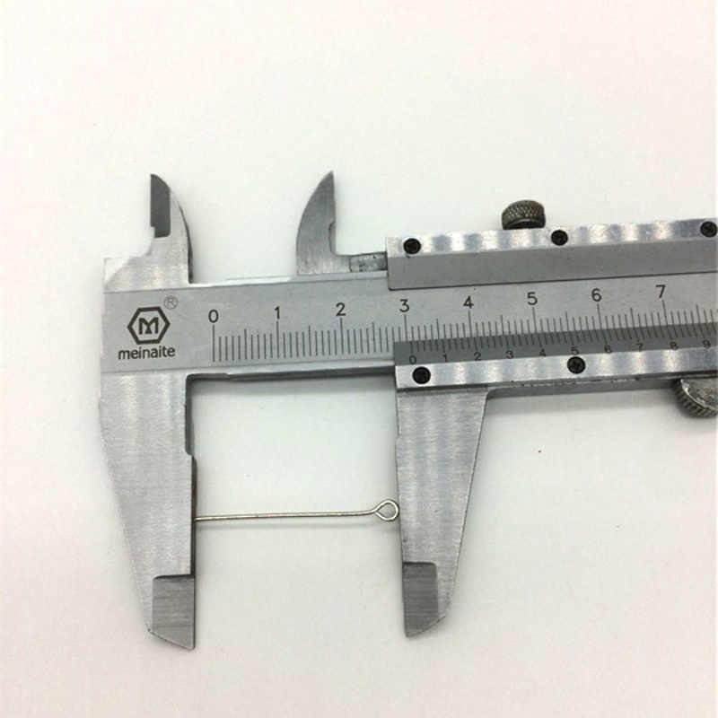 100 Uds barato nuevo estilo DIY cuentas hechas a mano Metal accesorios bola aguja para uso diario mercancías al por mayor
