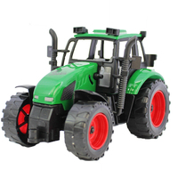 Simulation vehicle farmer car Agricultural Tractor Pull Back Inertial toy car Seeding vehicle Children's favorite toy model kids
