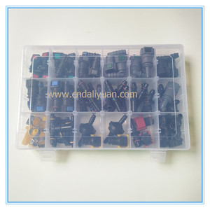 Image 2 - High quality one set SAE Fuel Urea pipe tube fittings auto Fuel line quick connector kit whole set total 80pcs for car
