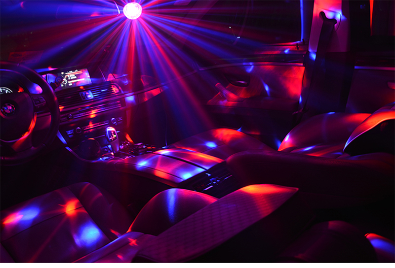 Sololandor-luz usb para bola de discoteca, 5v,
