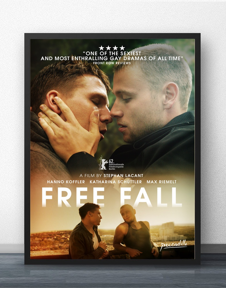 The Plot Love Gay Movie Freier Fall Free Fall Movie Wall Decor Silk Prints Art Poster Paintings for Living Room No Frame image