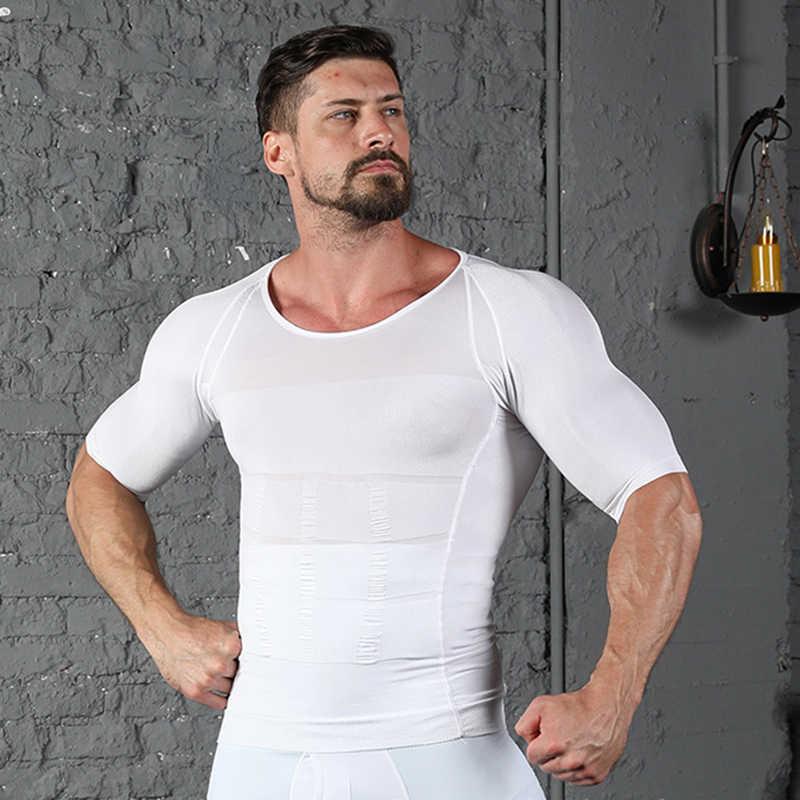Men's Slimming Shaper Posture Vest Male Body building Shapewear ...