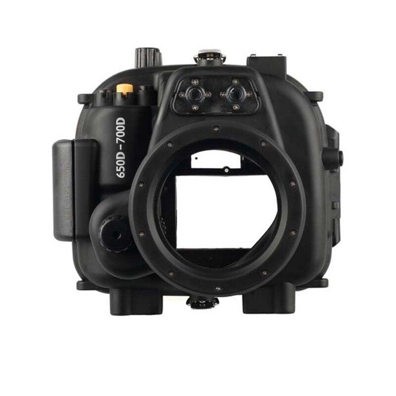 Meikon Underwater Waterproof Housing Case for Canon EOS 650D 700D