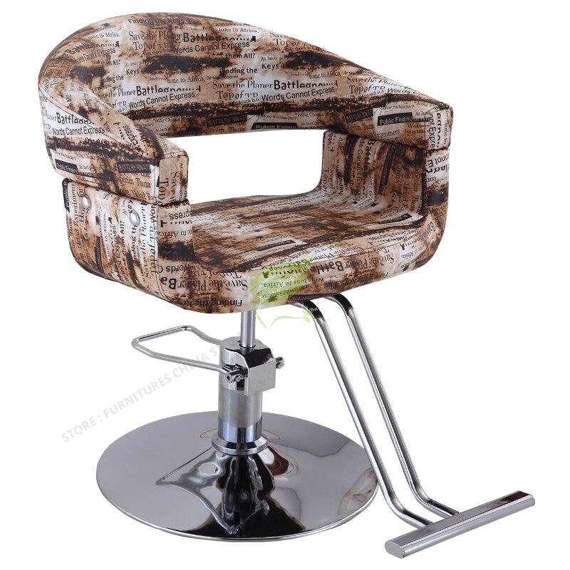 Iron Bar Chair Modern Bar Stool Bar Stool Seat Bar Furniture Make Up Chair Beauty Salon Furniture Simple Dotomy Stylish Lifting