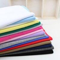 50*165 cm modale del cotone tessuto a maglia elastico estate jersey naturale abbigliamento FAI DA TE per T-Shirt di fabbricazione del vestito Elastico cotone tessuto