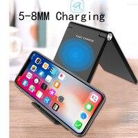 ATORCH 10 watt Falten QI Drahtlose Lade Für Samsung S8 S8Plus S9 S9Plus Hinweis 7 Folding Drahtlose Ladegerät Für Iphone 8 plus X Lade