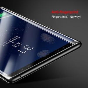 Image 4 - Baseus Screen Protector Voor Samsung Galaxy Note 8 Note8 3D Arc Gehard Glas Voor Galaxy Note 8 Volledige Beschermende Glas film