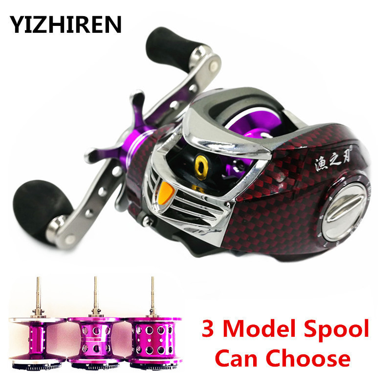 Snakehead 3 Model Metal Spool 19BB 7.0: 1 Baitcasting Fishing Reel - Ձկնորսություն