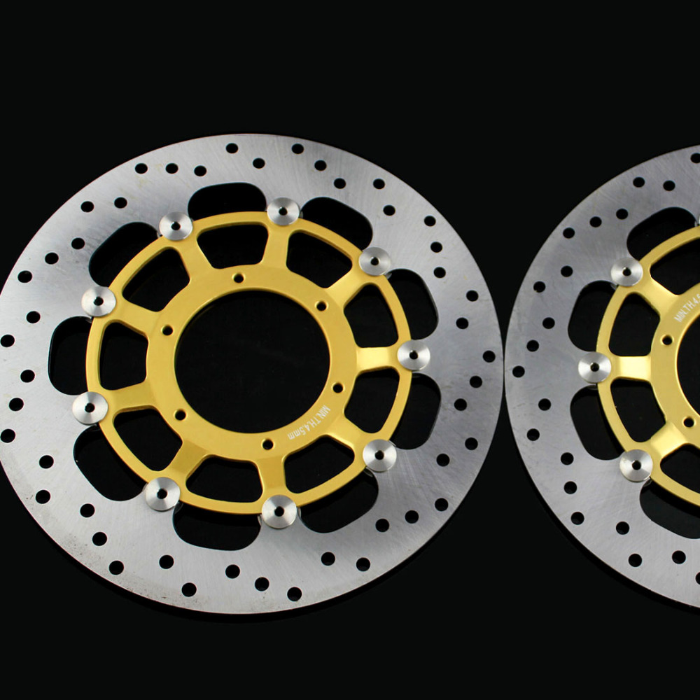 2 pieces motorcycle Front Disc Brake Rotor Scooter Front Rear Disc Brake Rotor for HONDA CBR600 2007 2008 2009 2010 2012 2013 2 pieces motorcycle front disc brake rotor scooter front rear disc brake rotor for honda cb400 1994 1995 1996 1997 1998