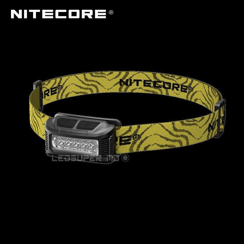 Original USB Rechargeable Nitecore NU10 Work Headlamp With Wide Range Illumination