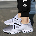 2017 New Spring Couple Shoes Male Shoes Slip-on Mens Air Breathable Casual Fashion Basket Femme Trainers Walking Runners Shoes