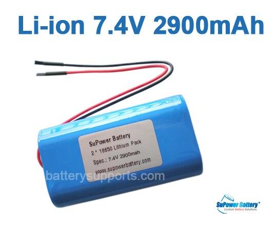 Supower 7 2v 7 4v 8 4v 18650 2900mah Lithium Ion Li Ion