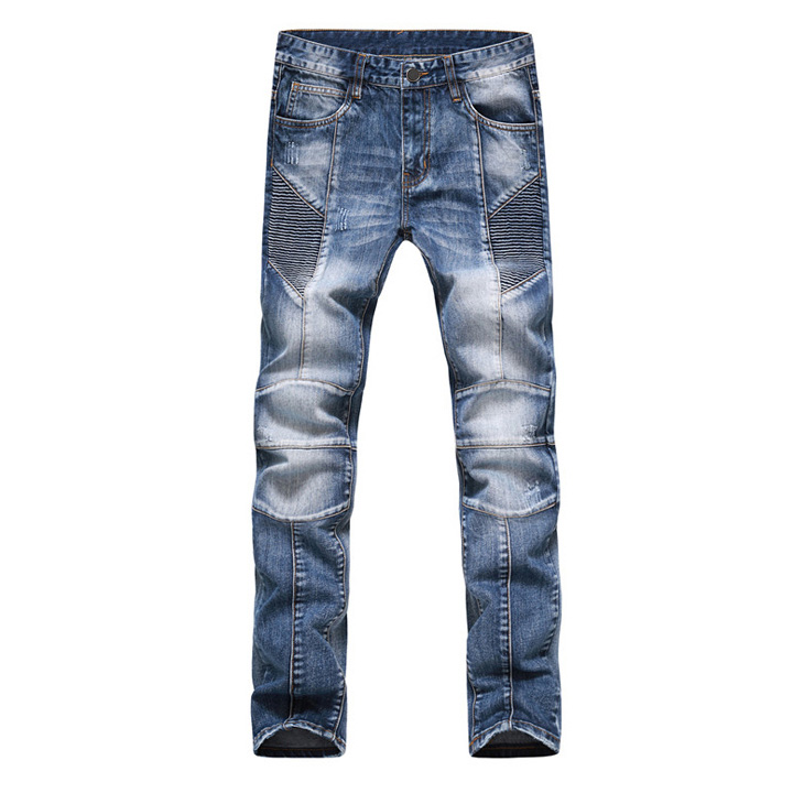 ФОТО Fashion Men Jeans New Arrival Design Slim Fit Fashion Jeans For Men Good Quality Blue Black