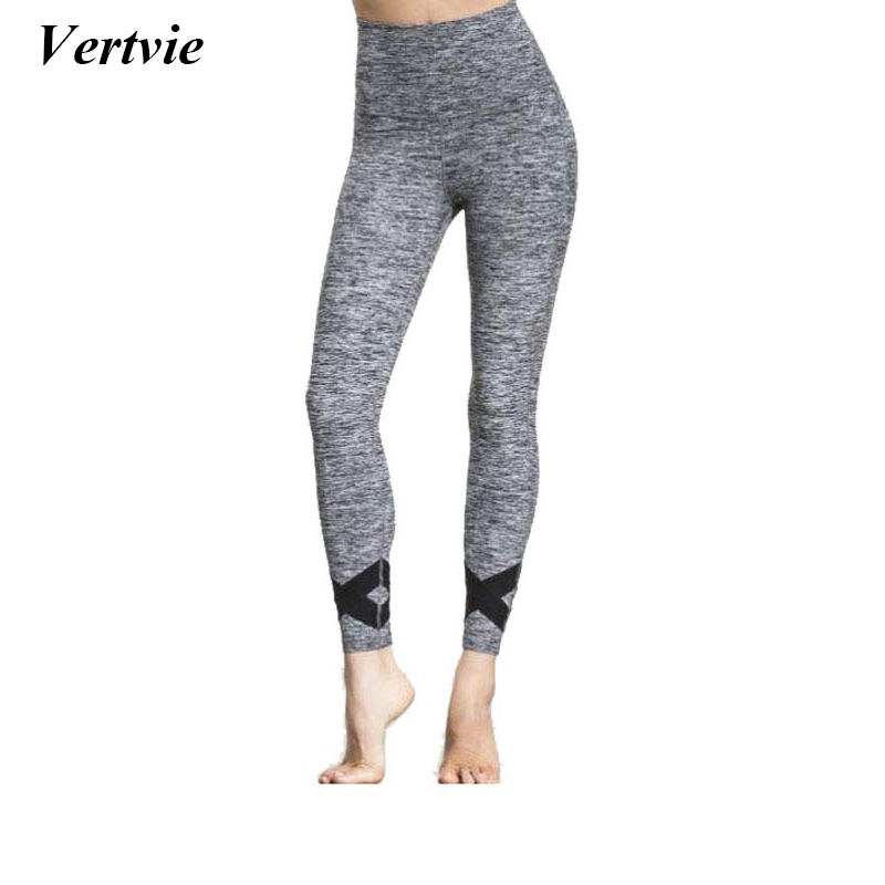 Vertvie Women Sexy Fitness Yoga Pants Running Tights Pants Trousers Crossed Running Fitness Pants Leggings Gym Joggers Pants New