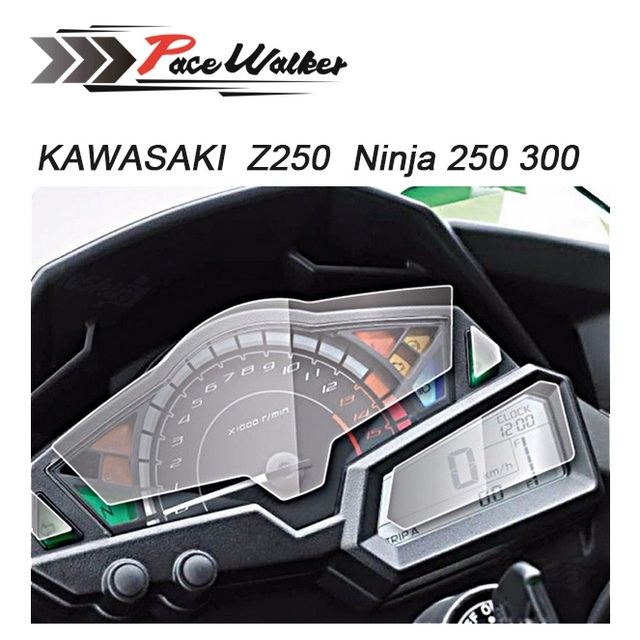 Motorcycle New Meter Speed Table Screen Protector Per For Kawasaki
