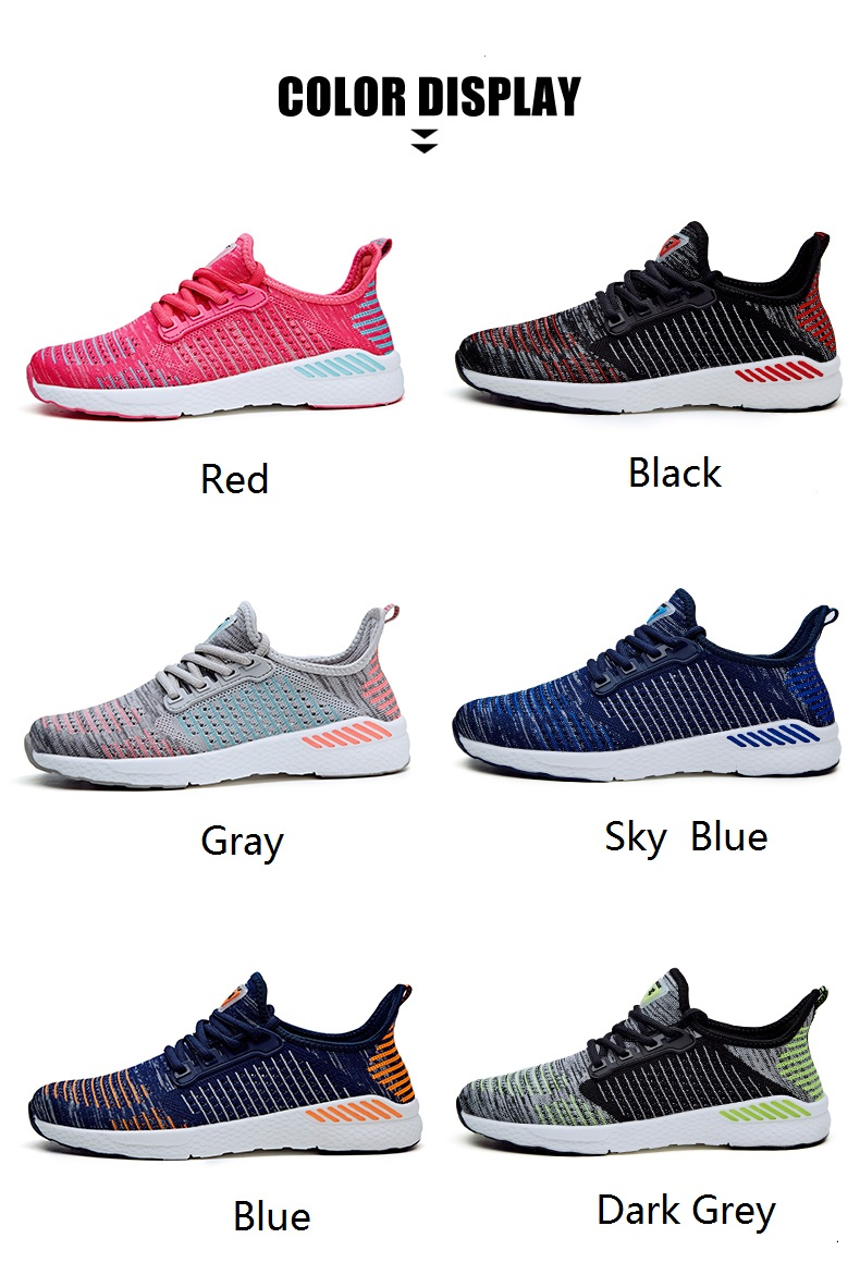 f72a02d166a Sneakers Women Six Colorful Casual Navy Blue Shoes Tenis Feminino Fashion  Breathable Flat Walking Shoes Women 2019 Gym Training
