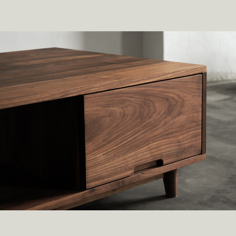 Translation Wood Black Walnut Wood Furniture Oak Wood Coffee Table