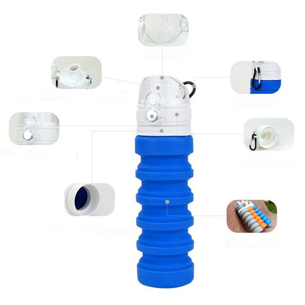 geekoplanet.com - Collapsible Silicone Travel Cups