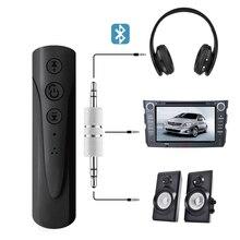 купить Bluetooth Handsfree Car Kit Wireless Bluetooth Speaker Phone MP3 Music Player 3.5mm jack Aux bluetooth car adapter vivavoce по цене 592.64 рублей