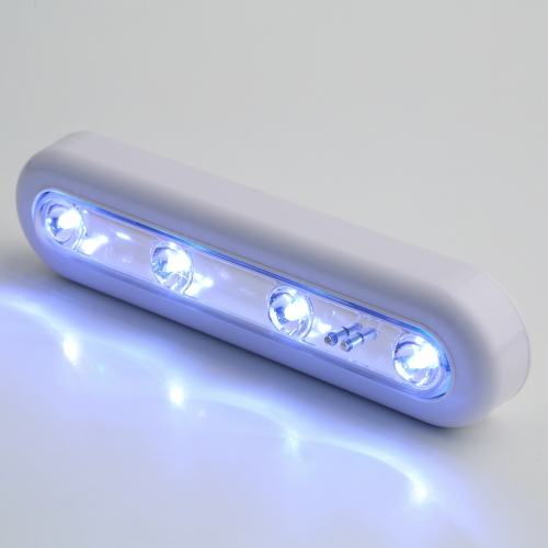 ICOCO Self Adhesive Cordless Linear LED Cabinet Lamp Touch Sensor Cabinet Strip Light Battery Power Up Light Cabinet Touch Light