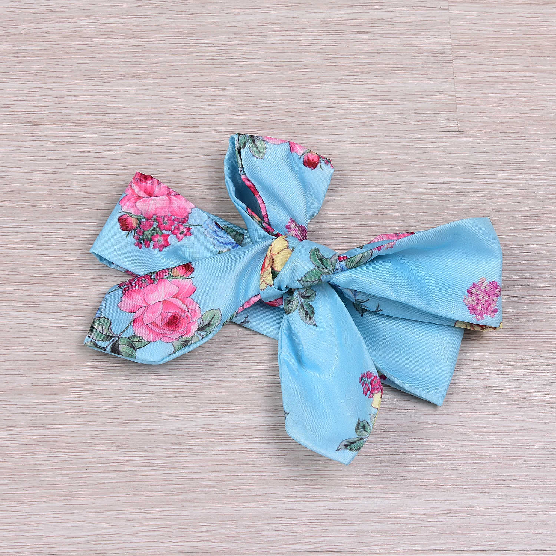2017 חמוד פעוטות בייבי בנות שמלת כותנה פרח הדפסת הקיץ פרחוני ללא שרוולים שמלה + סרט 2 יחידות גודל 0-4