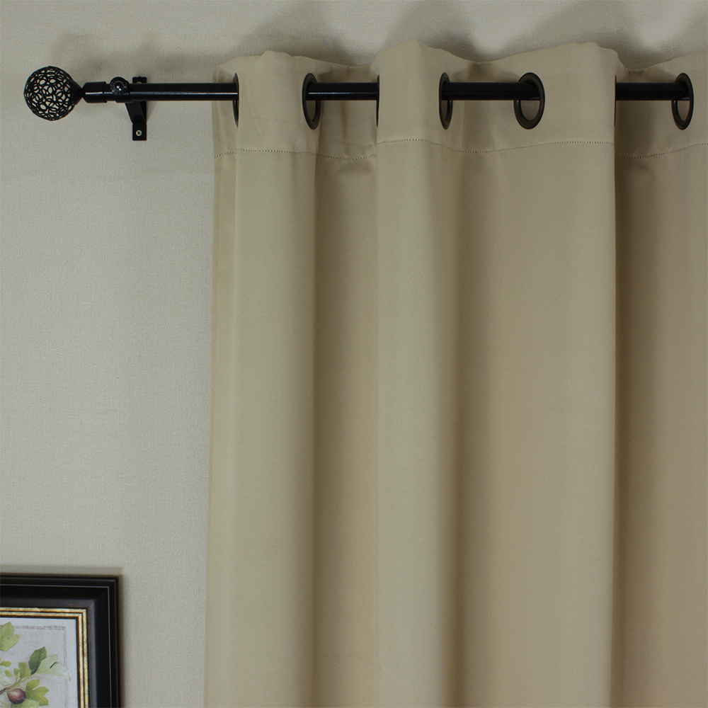 Modern grommet top curtains - Aliexpress Com Buy One Panel Tube Curtains Modern Blackout Solid Thermal Insulated Beige Curtain Grommet Top Window Cortina Summer Style From Reliable