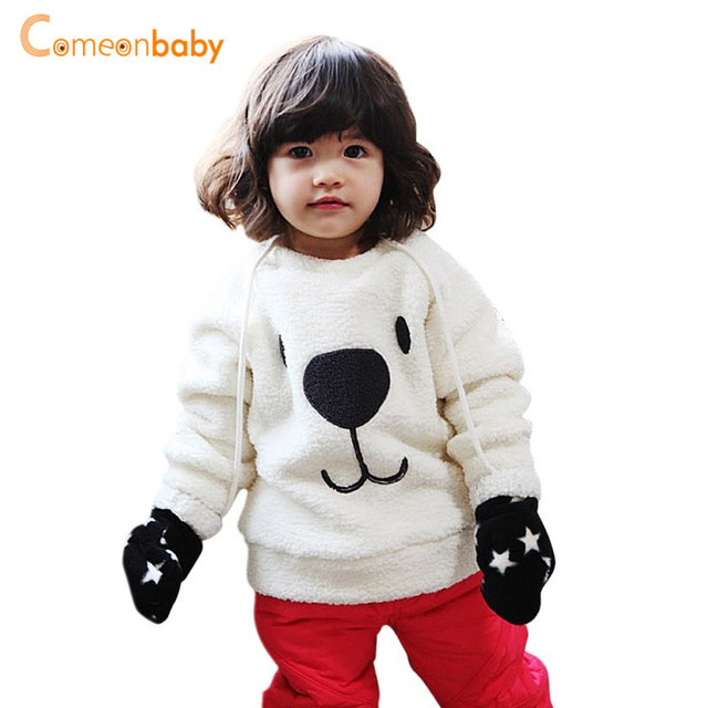 894f42610 Kids Baby Girl Sweater Children Outwear Clothes Autumn Winter Furry ...