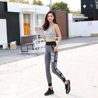 Kadın Spor Yoga Pantolon Spor Spor Tayt Egzersiz Tayt Koşu Gym Eğitim Tayt Elastik Kış Bir Boyut bırak gemi