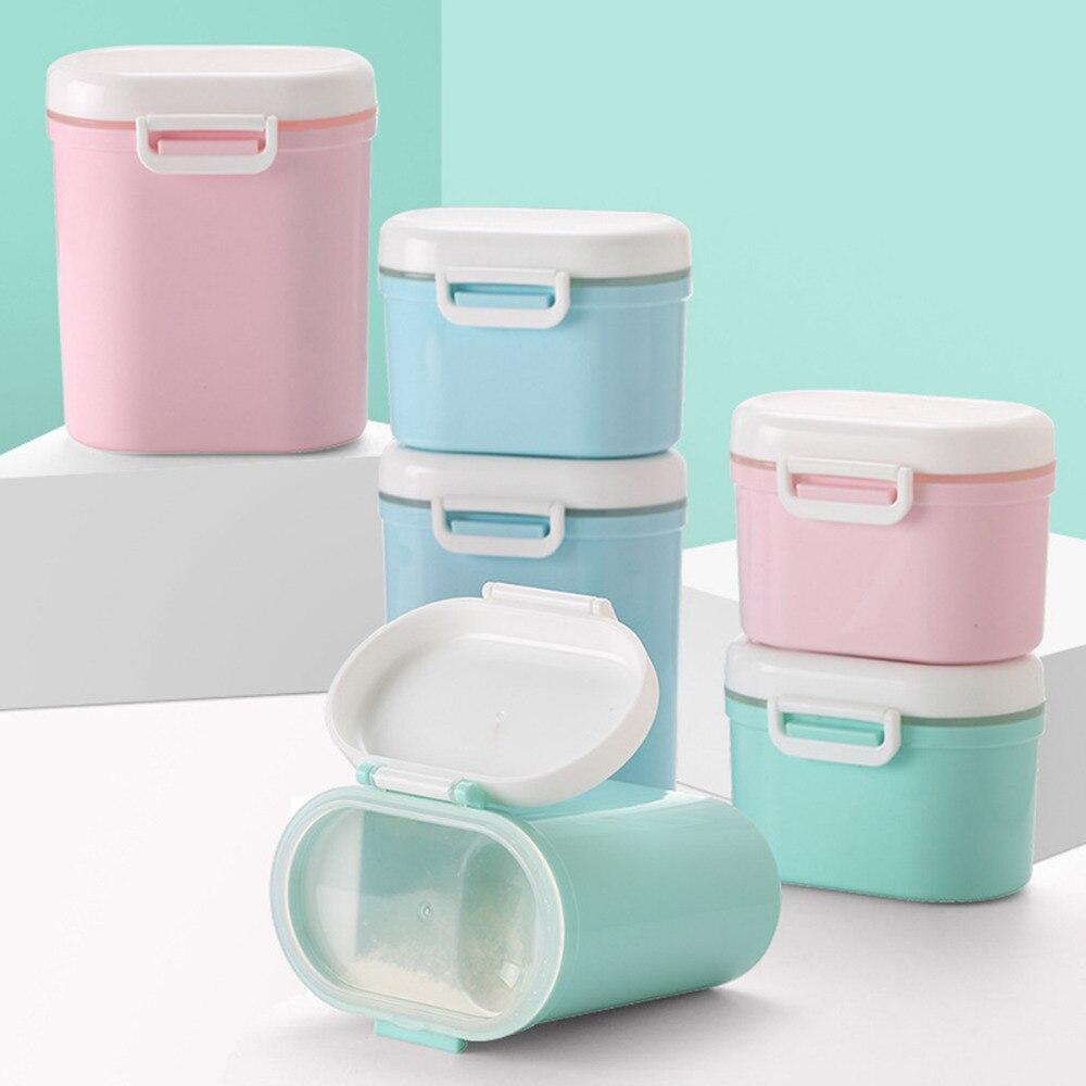 Flaschenzuführung Baby Food Storage Box Tragbare Kleinigkeiten Box Milch Pulver Organizer Container Empfangen Box Geschenk Fall 3 Farbe Mutter & Kinder