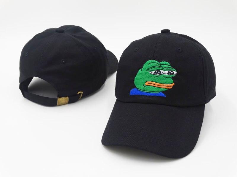Kopfbedeckungen Für Herren 2019 Neue Traurig Gesicht Baseball Kappe Stickerei Fashion Sad Junge Dad Hut Baumwolle Einstellbare Hysterese Hüte Frauen Männer Sommer Frühling Kappen