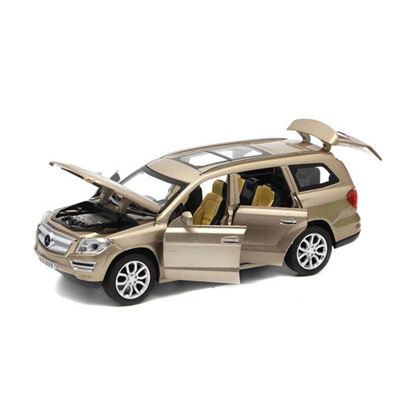 1:32 GL500 Simulation Spielzeug Fahrzeuge Modell Legierung Zurückziehen Kinderspielzeug Echte Lizenz Sammlung Geschenk Geländewagen Kinder