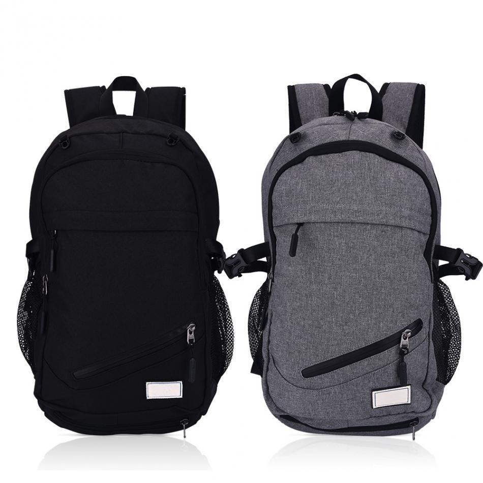 Men Gym Training Bag Basketball Backpack 15.6 Inch Laptop ...