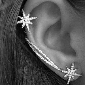 Clip-Earrings Jewelry Ear-Cuff Star Trendy New-Fashion Hot for Women Wholesale Personality