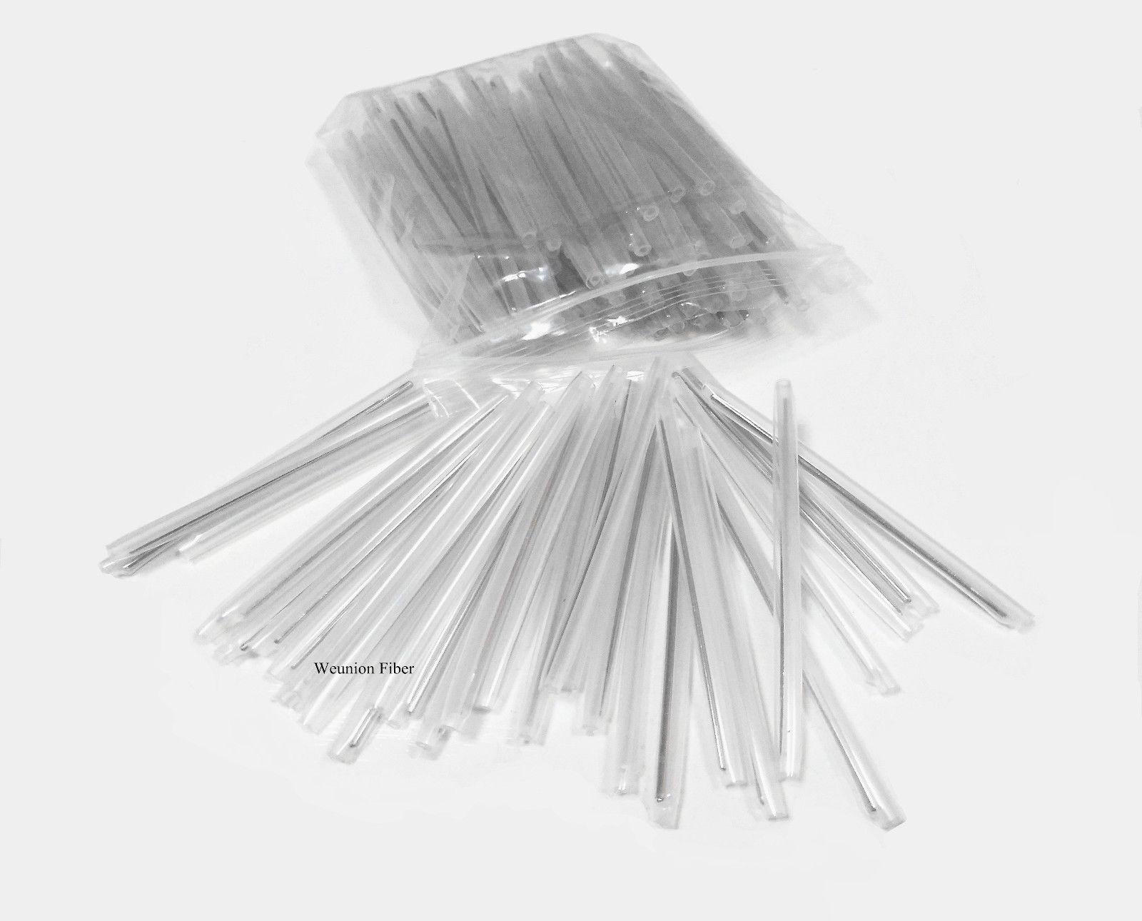 45mm Heat Shrink Tube Clear 500pcs ¢2.5 Fiber Fusion Splice Protection Sleeve