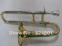 Professionale jinyin corno contralto trombone sib piatto lacca oro ottone trombone strumento a fiato con trombone bocchino e custodia