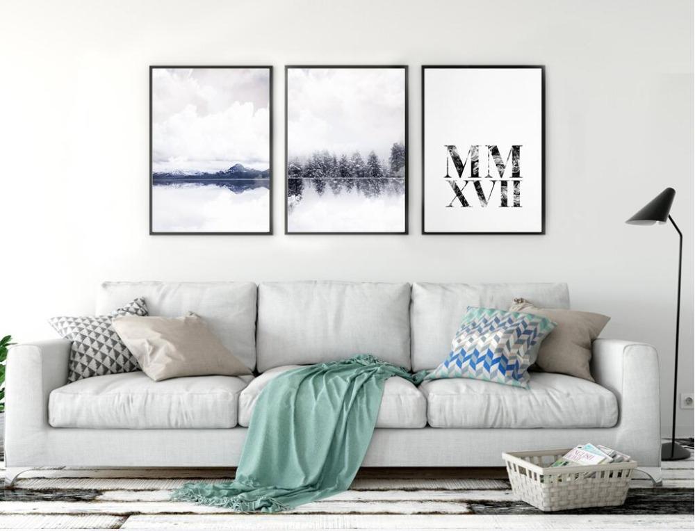 new nordic moda letras inglesas canvas art print poster pared cuadros para la decoracin del