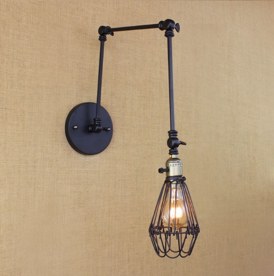 IWHD Long Arm Wall Light LED RH Loft Style Industrial Wall Lamp Vintage Cafe Dinning Room Arandela lamparas De ParedIWHD Long Arm Wall Light LED RH Loft Style Industrial Wall Lamp Vintage Cafe Dinning Room Arandela lamparas De Pared