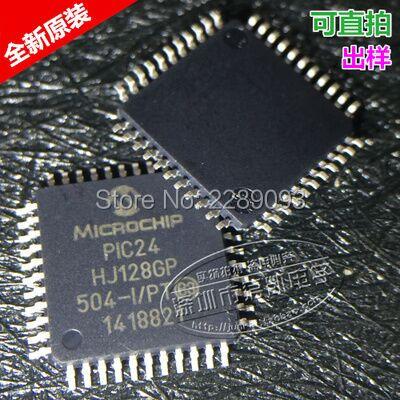 Free Shipping!PIC24HJ128GP504-I/PT PIC24 HJ128GP 504-I/PT 16-bit Microcontrollers (up to 128 KB Flash and 8K SRAM)(China)