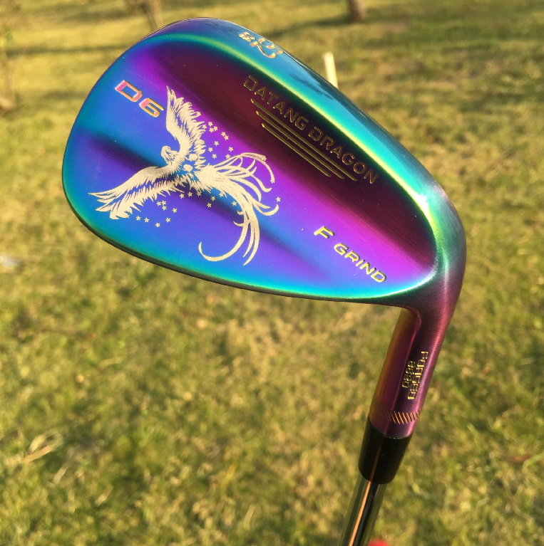 2017 golf wedges phenix real forged wedges 52 56 60 degree with original S200 steel shaft D6 golf clubs