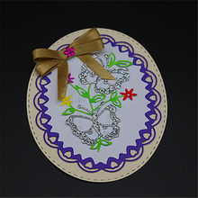 Round Butterflies Cutting Dies for Scrapbooking Photo Album Embossing DIY Paper Cards Making Decorative Stencil Craft