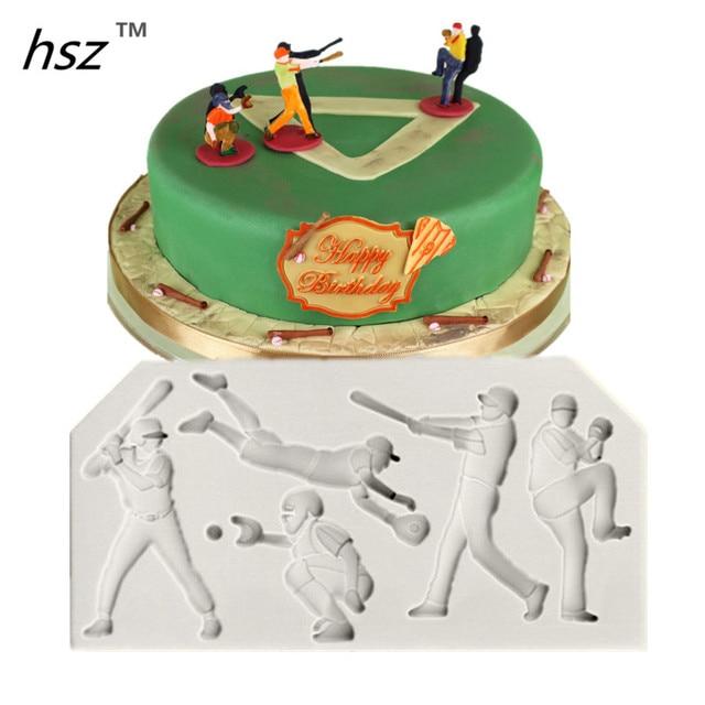 Lebensmittelqualitat Silikon Sport Serie 3d Silikonform Fur Kuchen