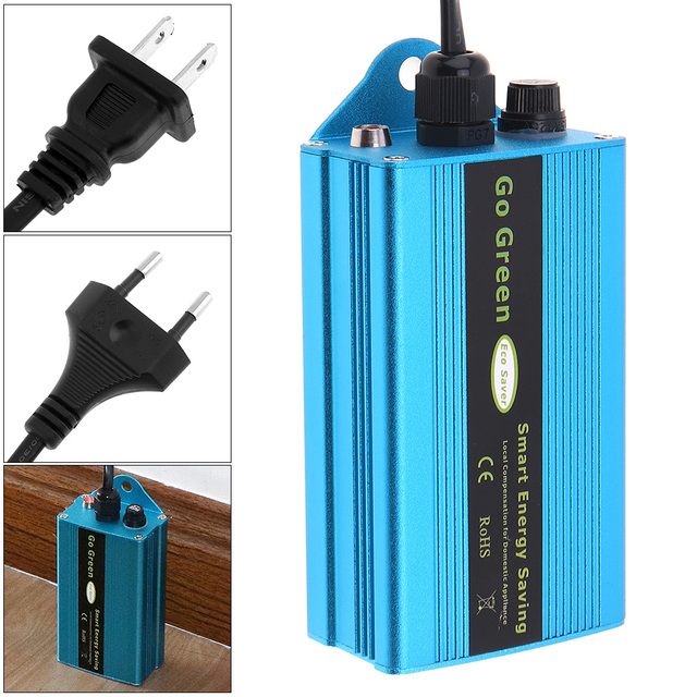 50KW 90-250V Intelligent Smart Energy Saver Device Power Saving Box Electricity Bill Killer Up to 35% for Home Office Factory