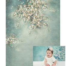 Photography Backdrop Newborn Baby Background for Photo Background Photocall Backdrops Spring Flower Children Photographic Studio