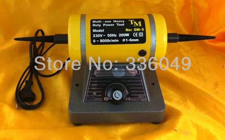ФОТО Adjustable speed grinding & polishing machine included two Buffing Wheel,Jewelry Making Supplies Polishing Motor
