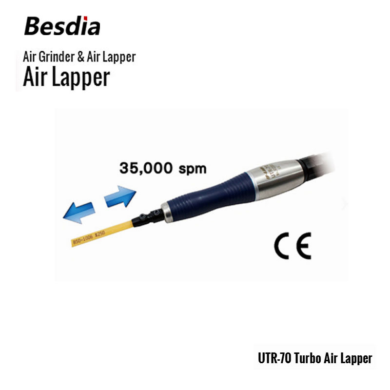 TAIWAN Besdia Air Grinder Turbo Air Lapper UTR-70 cal 630a micro air grinder torque increased 80% made in taiwan