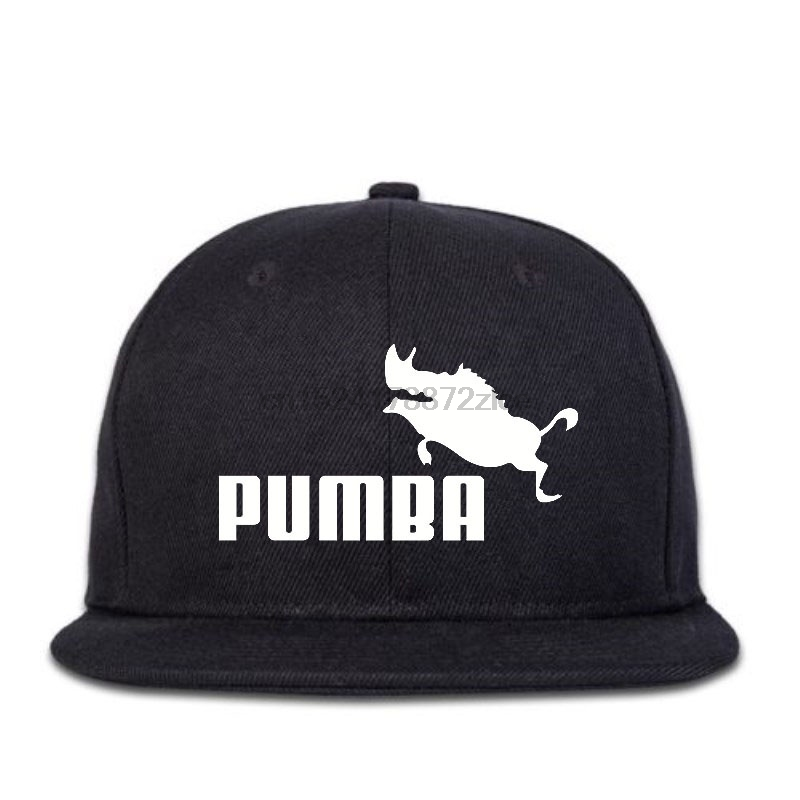 Pumba Funny Design Men Hip Hop Caps
